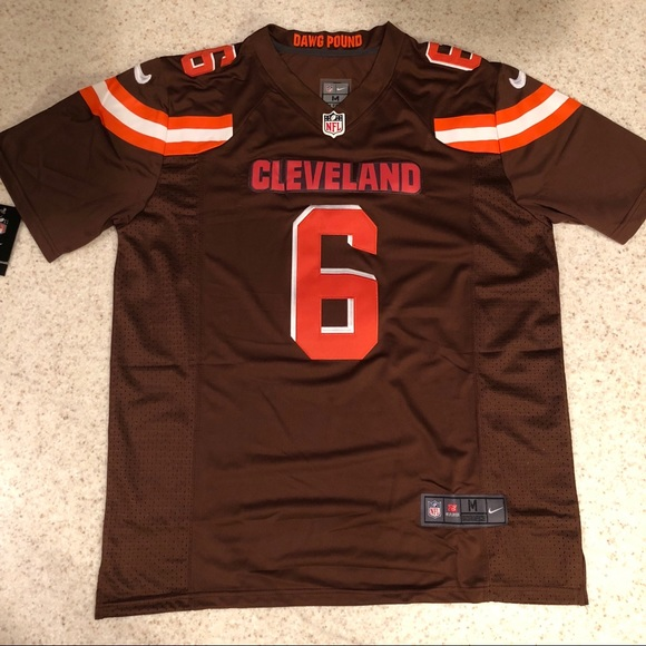 cheap for discount c9aac 026fe BAKER MAYFIELD CLEVELAND BROWNS STITCHED JERSEY